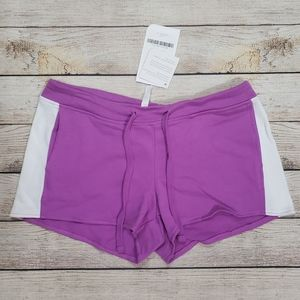 NWT Fabletics XS purple exercise shorts